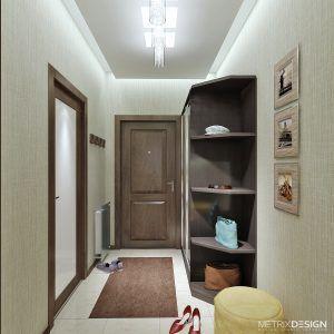 Интерьер квартиры в ЖК «Арена»