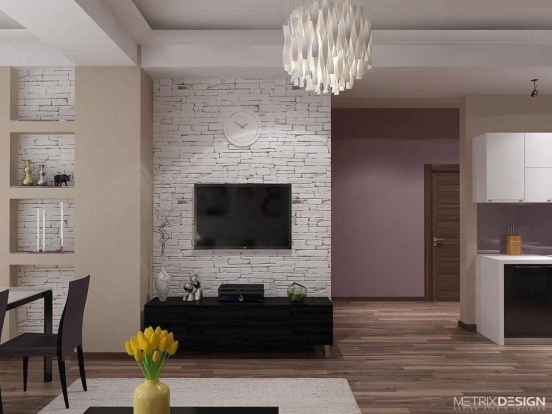 Квартира в розовом цвете 87 м/кв