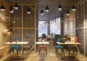 Интерьер кофейни в Адлере, 38 кв.м.