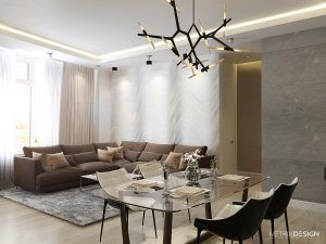 Квартира для молодой семьи 138 м/кв.