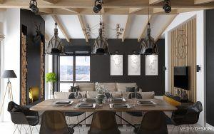 дизайн частного дома 150 м/кв