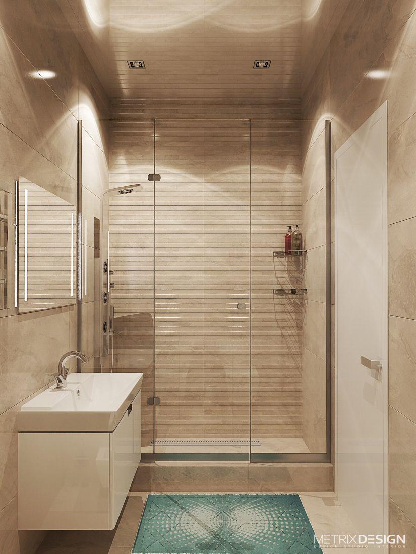 Дизайн ванной в малогабаритной квартире