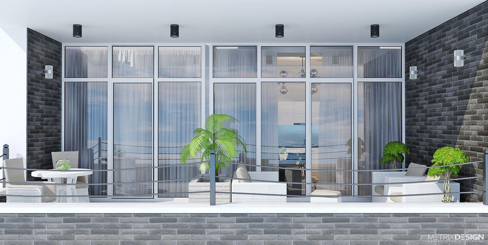 Дизайн квартиры у моря