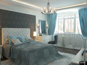 Интерьер квартиры в ЖК «Парк Горького» 117 м/кв