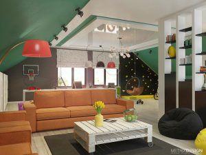 3 этаж. Дом многодетной семьи 230 м/кв