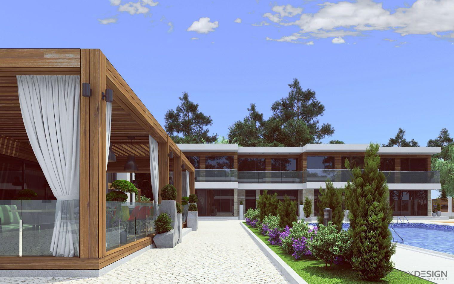 Дизайн проект зоны отдыха